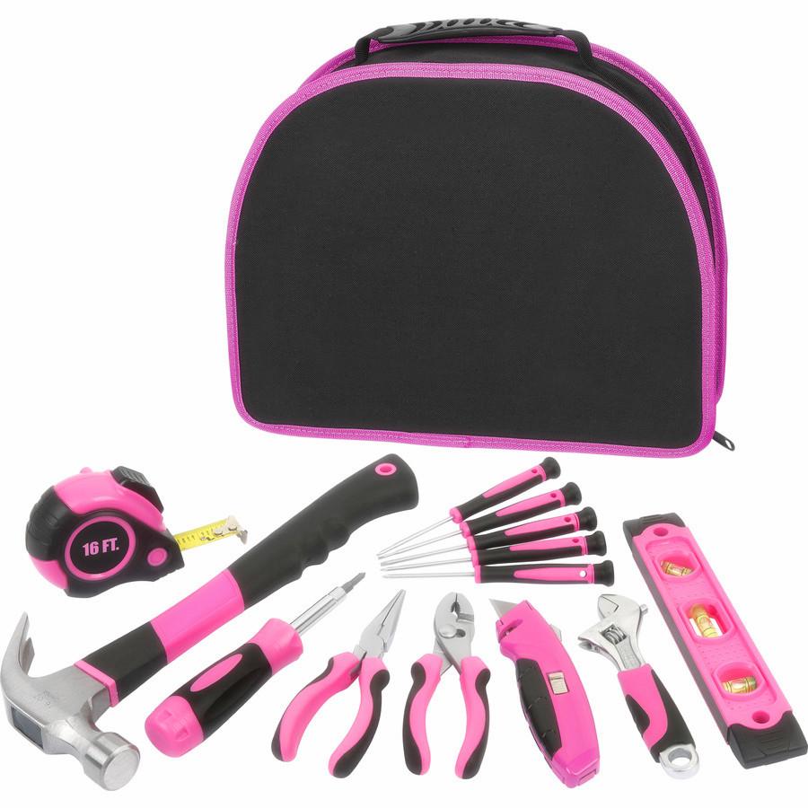 12Pcs Pink Ladies tool kit (FY1012B)