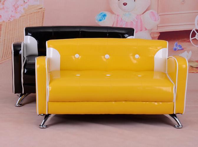 Shining PVC leather kids sofa kids furniture(BF-006)
