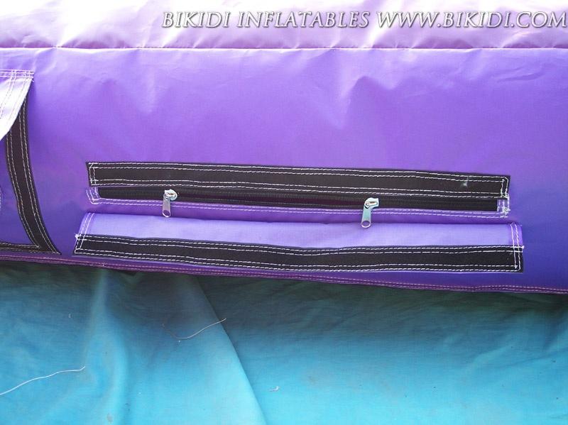 Double Fastener Zipper