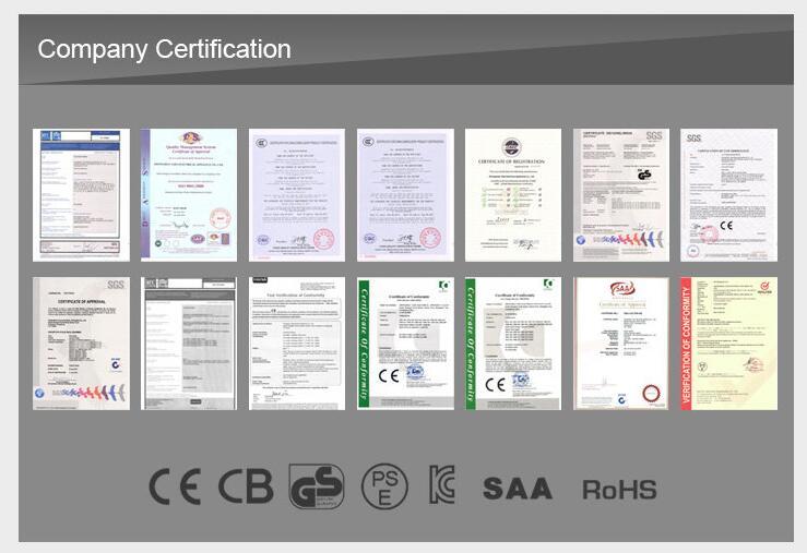 certification --heater/airfryer