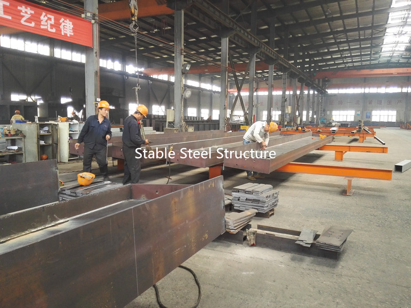 Welded H steel for buildings