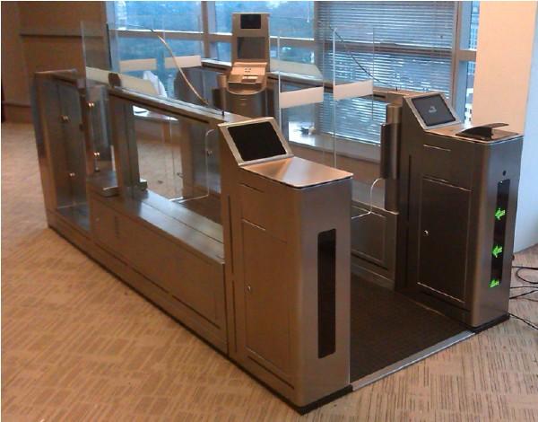 Biometric Access Control E-gate in Malaysia Kuala Lumpur New International Airport