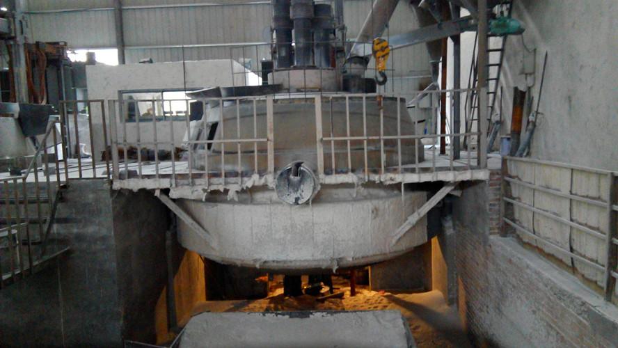 3500KVA tilting arc furnace