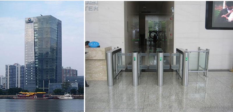 Guangzhou Harbour Centre Speed Gate Turnstile Project