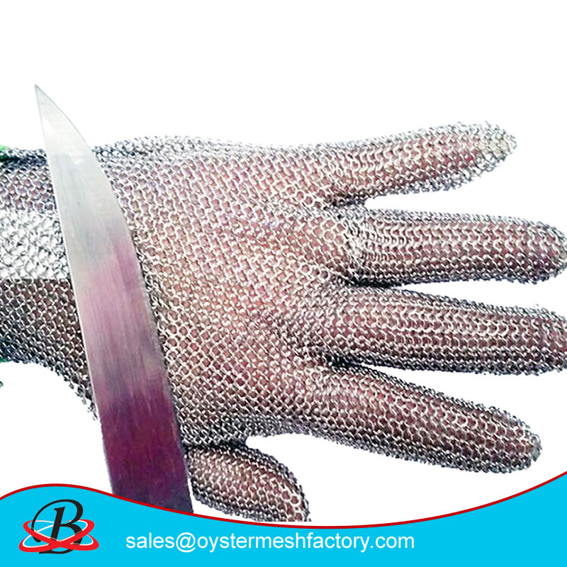stainless steel anti cut gloves