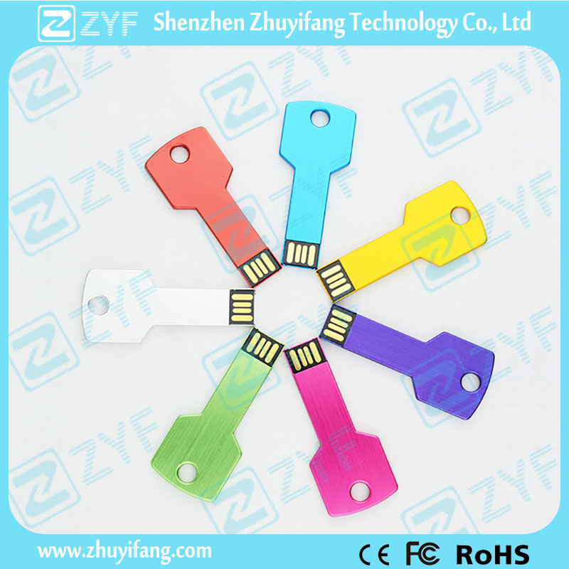 Promotional Aluminum Key USB Stick