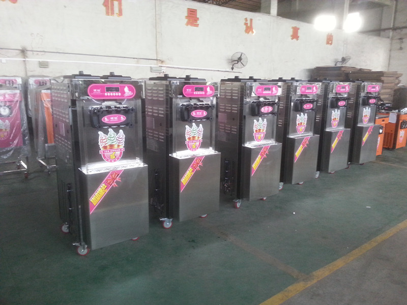 ice creammachine produce line