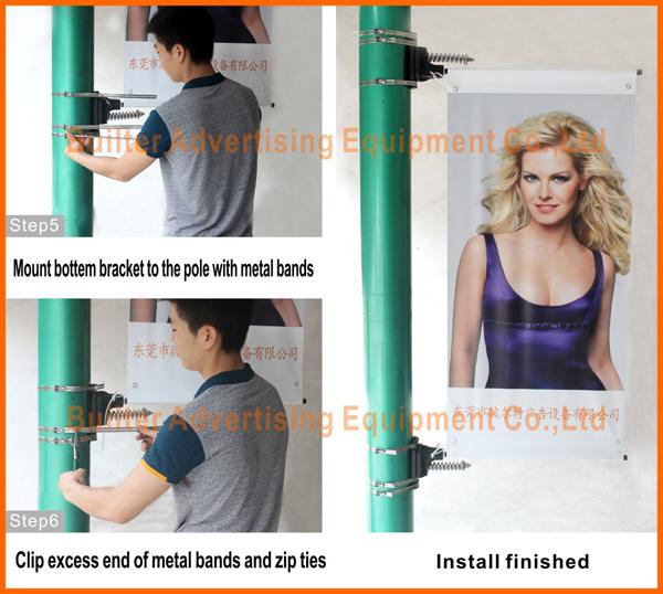 Banner bracket Install step 2
