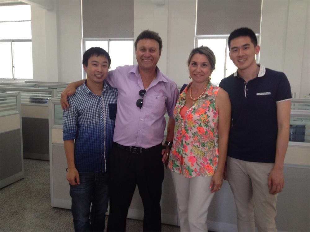 Lejian Client Visit - Israel Client