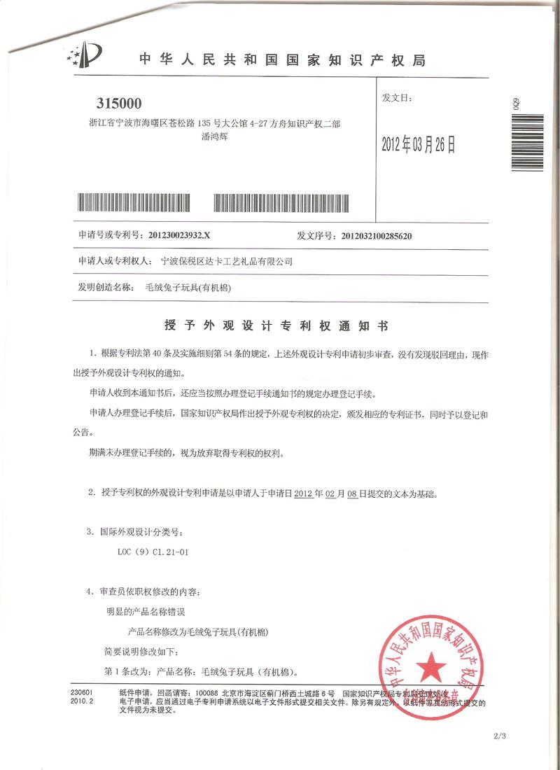 Letter Patent