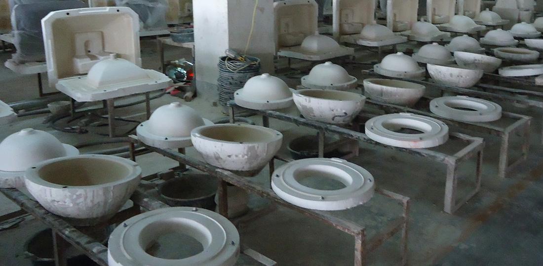 Model of bathroom sink/bowl