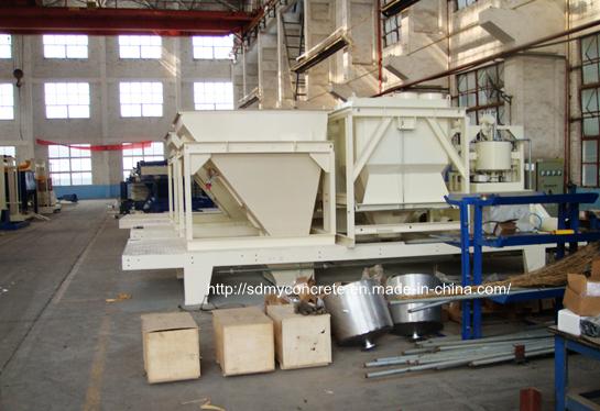 concrete batching plant metering system
