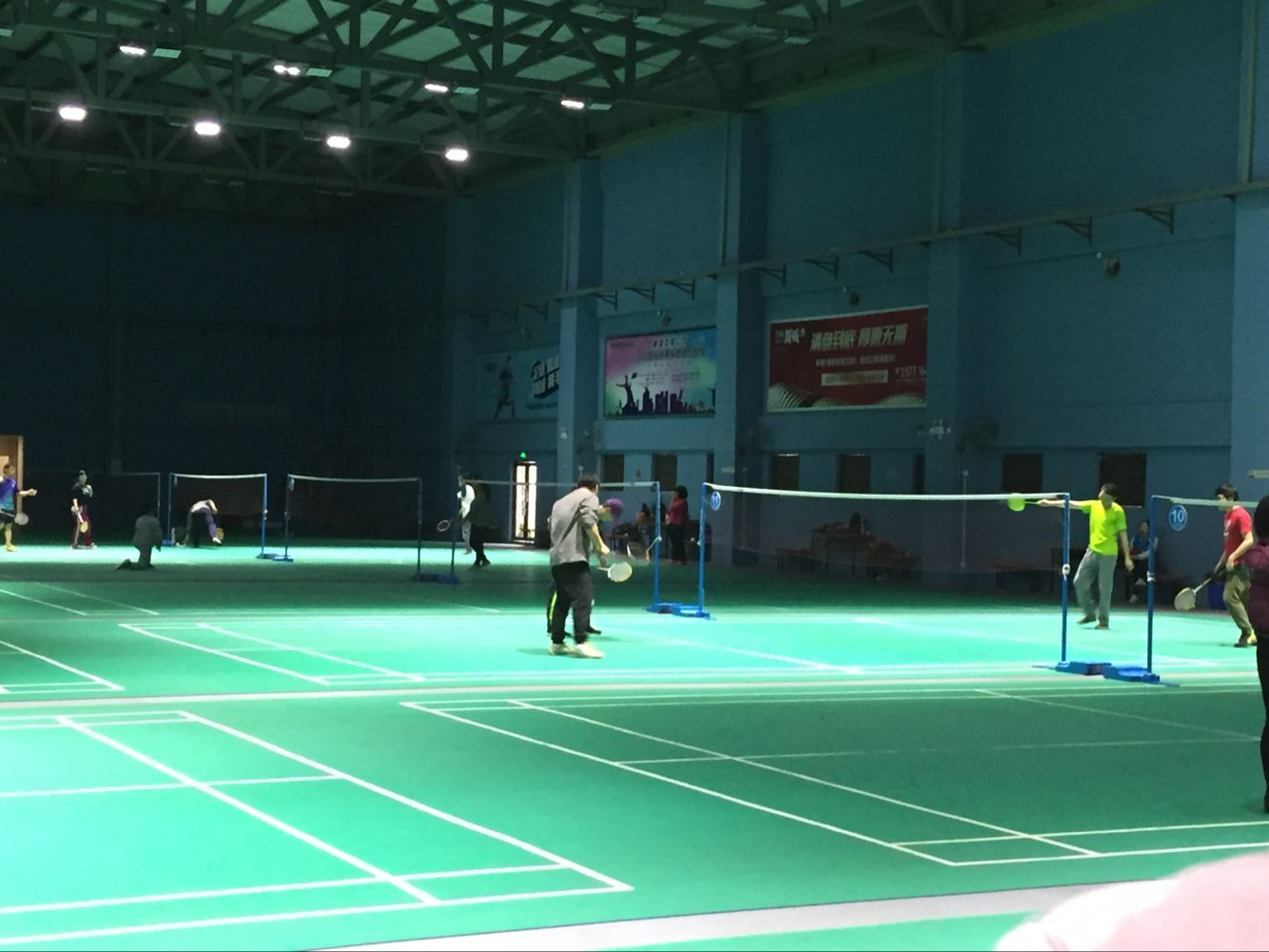 Company Spring Badminton Competition