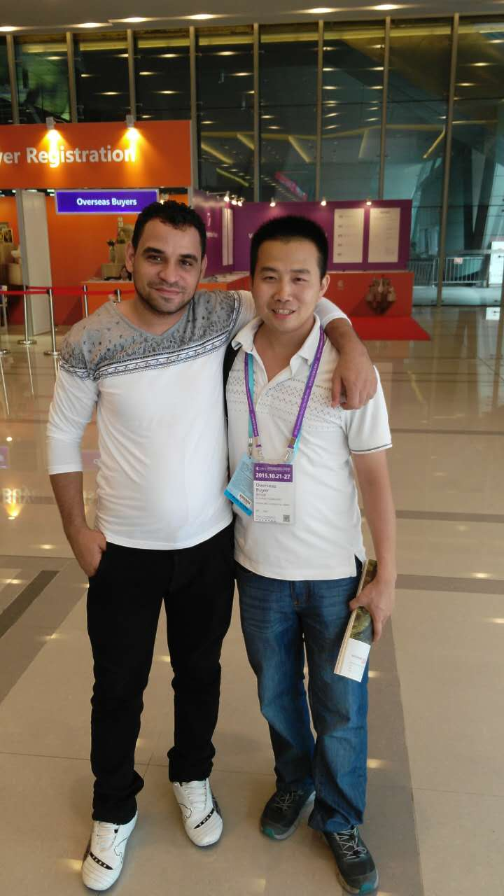 Middle East customer in canton fair