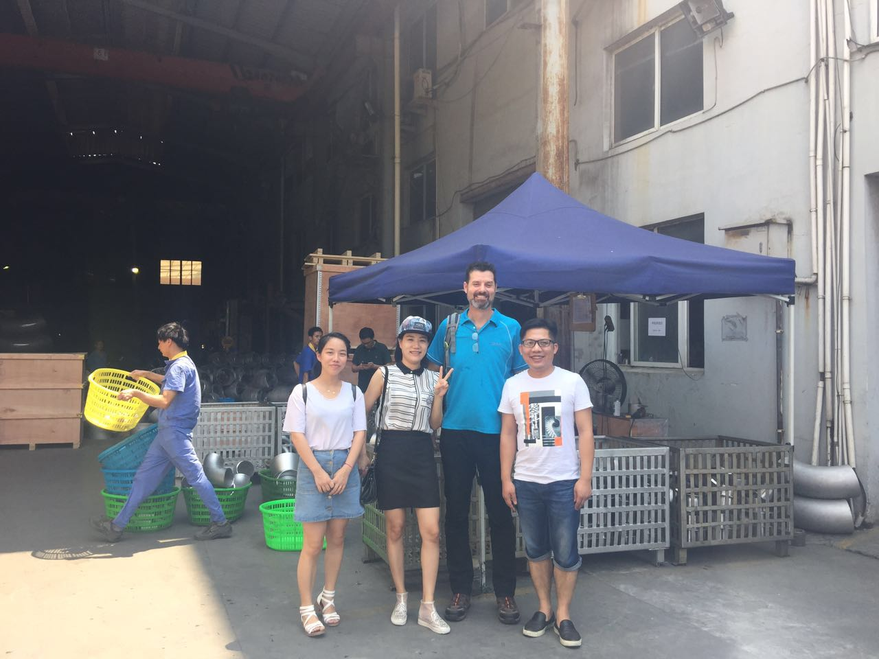 Australian Customer visitation