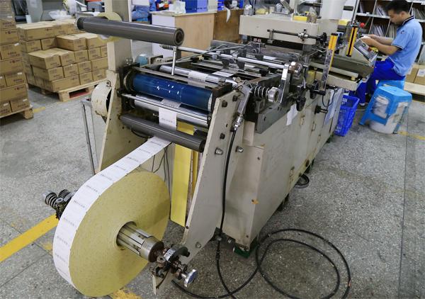 Label Sticker Moulding Machine