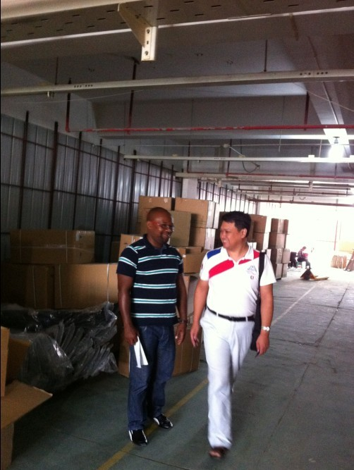 Africa Customer Inspect Warehouse