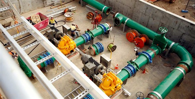 SUPPLIED STEEL PIPES, ELBOWS, TEES, and GATE VALVES