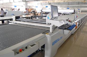 Gerber automatic cutting system