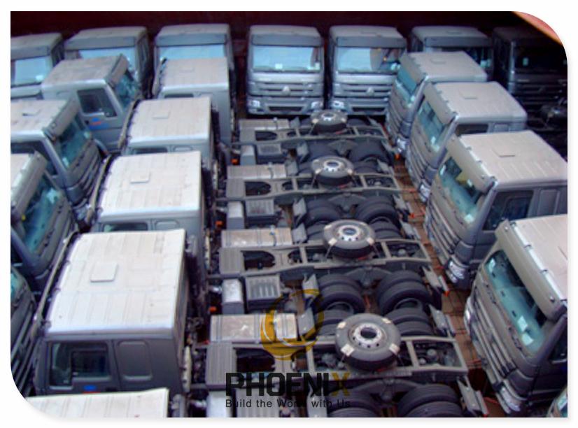 Sinotruk Trucks to Nigeria