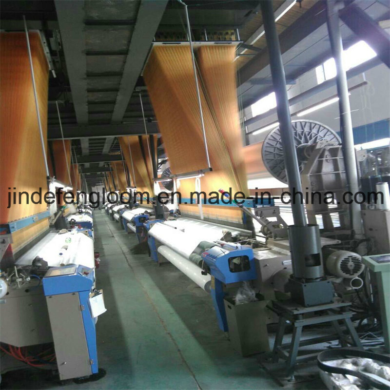 Air Jet Loom with Jacquard running in customers' factory