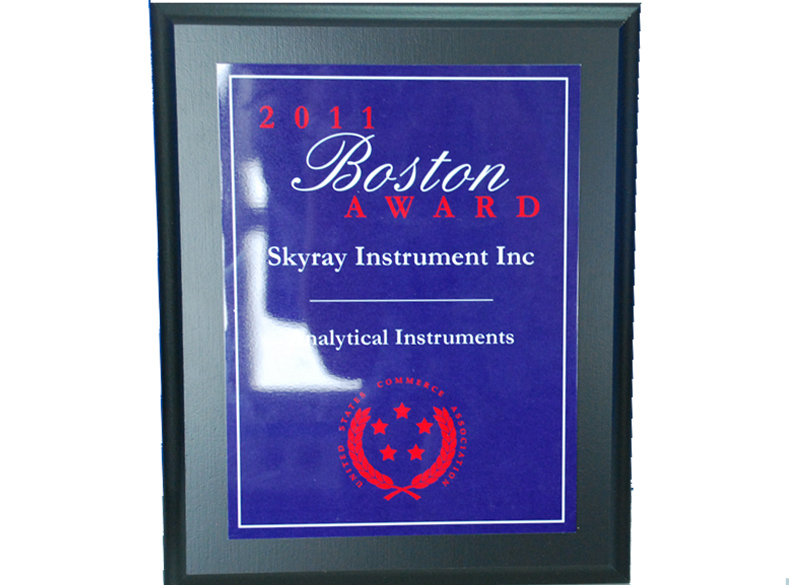 Boston Award Enterprise Certificate