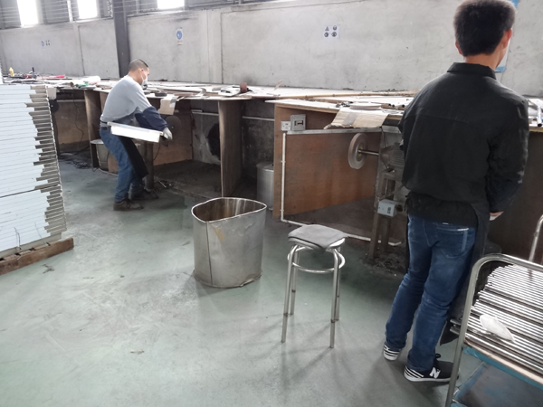 Production process - polishing