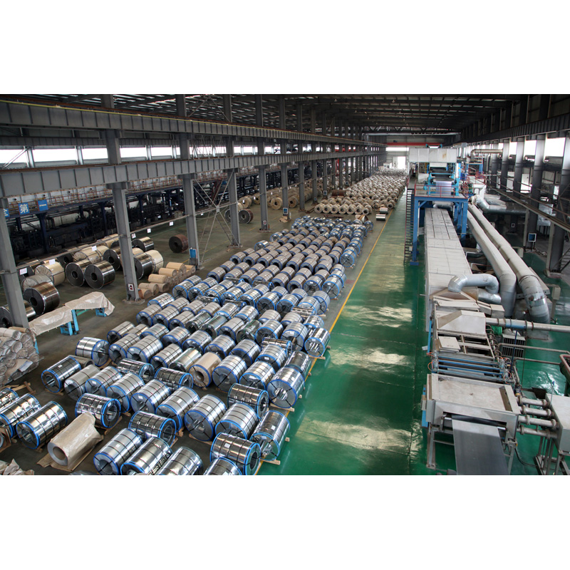 Abundant stock of steel coil