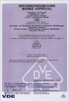 VDE Certification