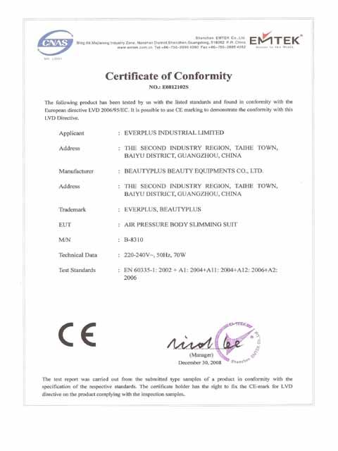 Ce Certificates 03