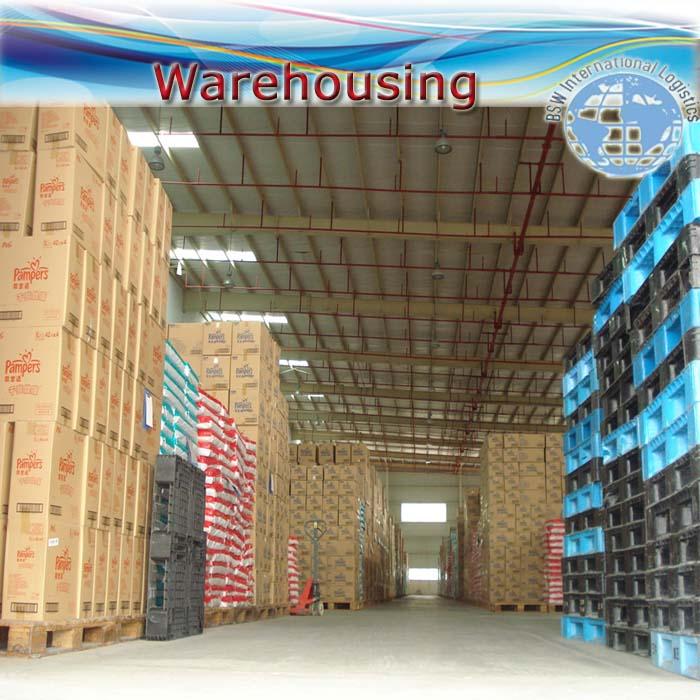 Warehousing & distribution (Guangzhou / Shenzhen)