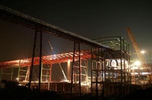 Belt conveyor for steel plant