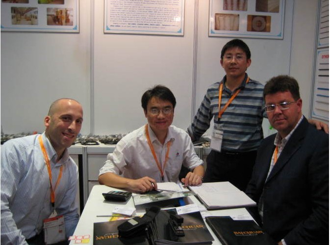 CEO with Italy Customers