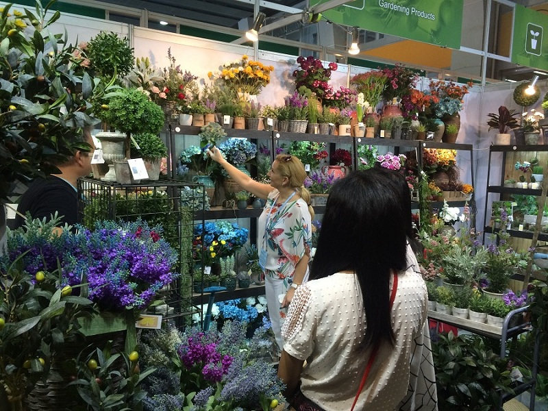 Artificial Plastic Plant in Kinds of Fairs