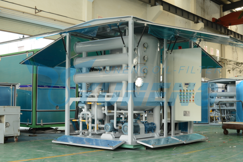 Transformer Oil Vacuum Purifier