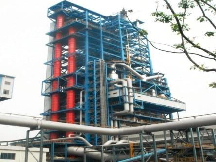 Shanghai Baosteel Group(COREX blast furnace project)