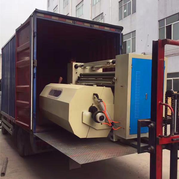Belgian customers buy tape machine slitting machine