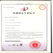 Product Patent Certificate for SG-660M