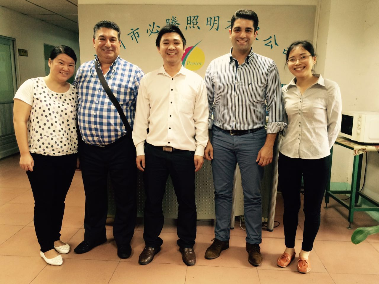 Customers Visit our factory after fair
