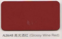 ALB648 Glossy Wine Red