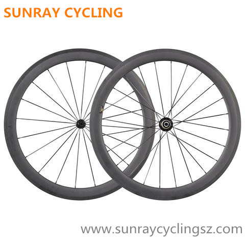 50mm Carbon Wheels Road Bike Carbon Tubular Wheels