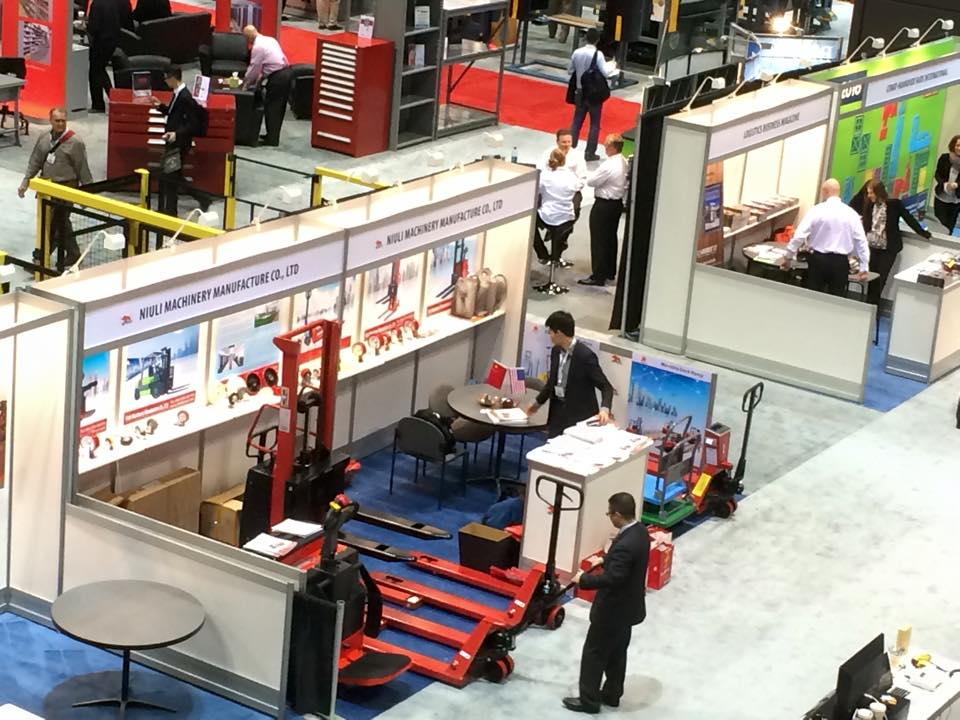 Niuli Attend Logistics Expo in Chicago