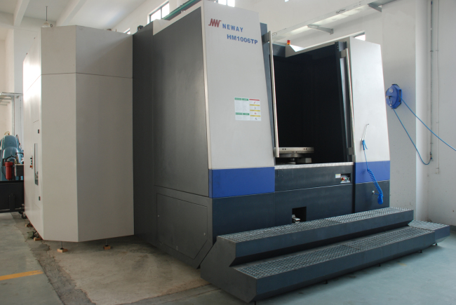 CNC Horizontal Machining Center1