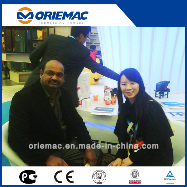 Indian Client Visited Evangel Office and Bauma China 2012 in Shanghai