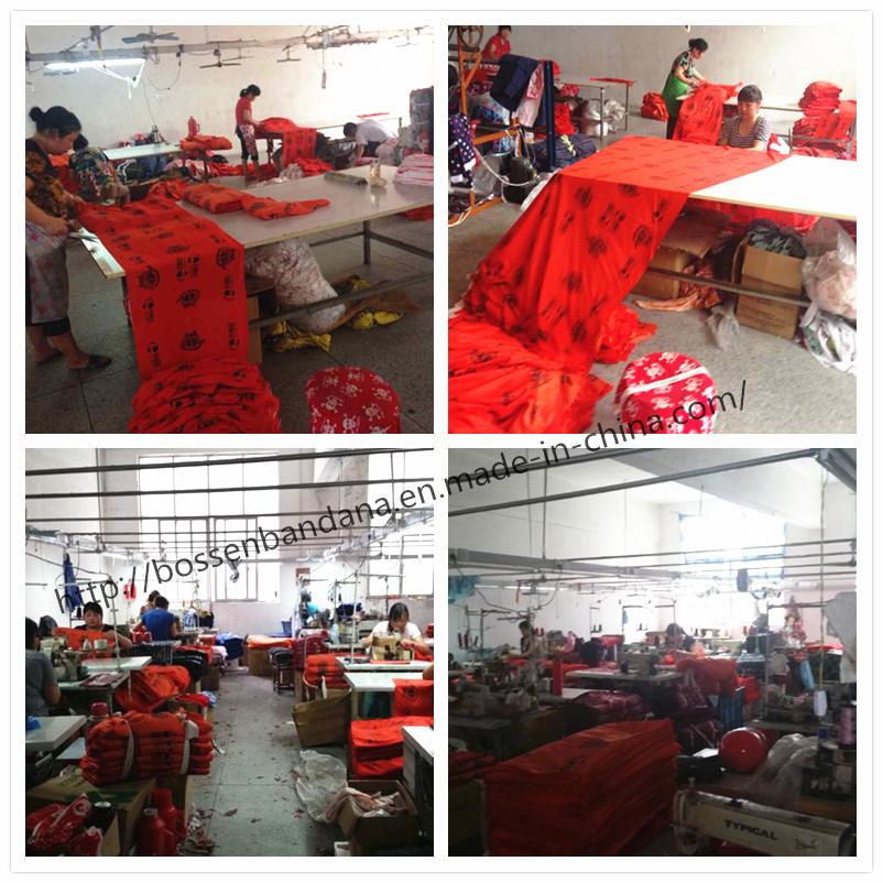 Bandana production---Cuting&Sewing