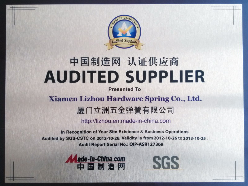 Made-in-china Audited Supplier SGS