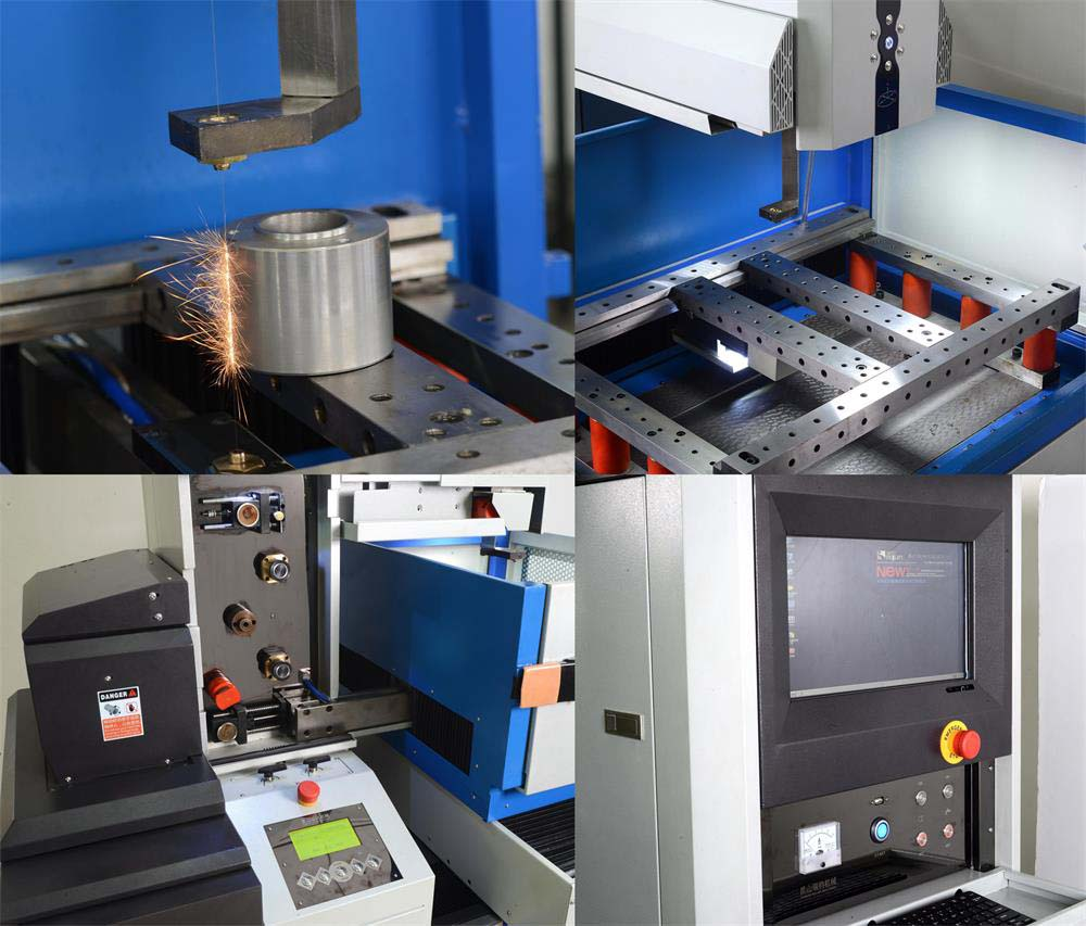 Details of our edm wire cut machine