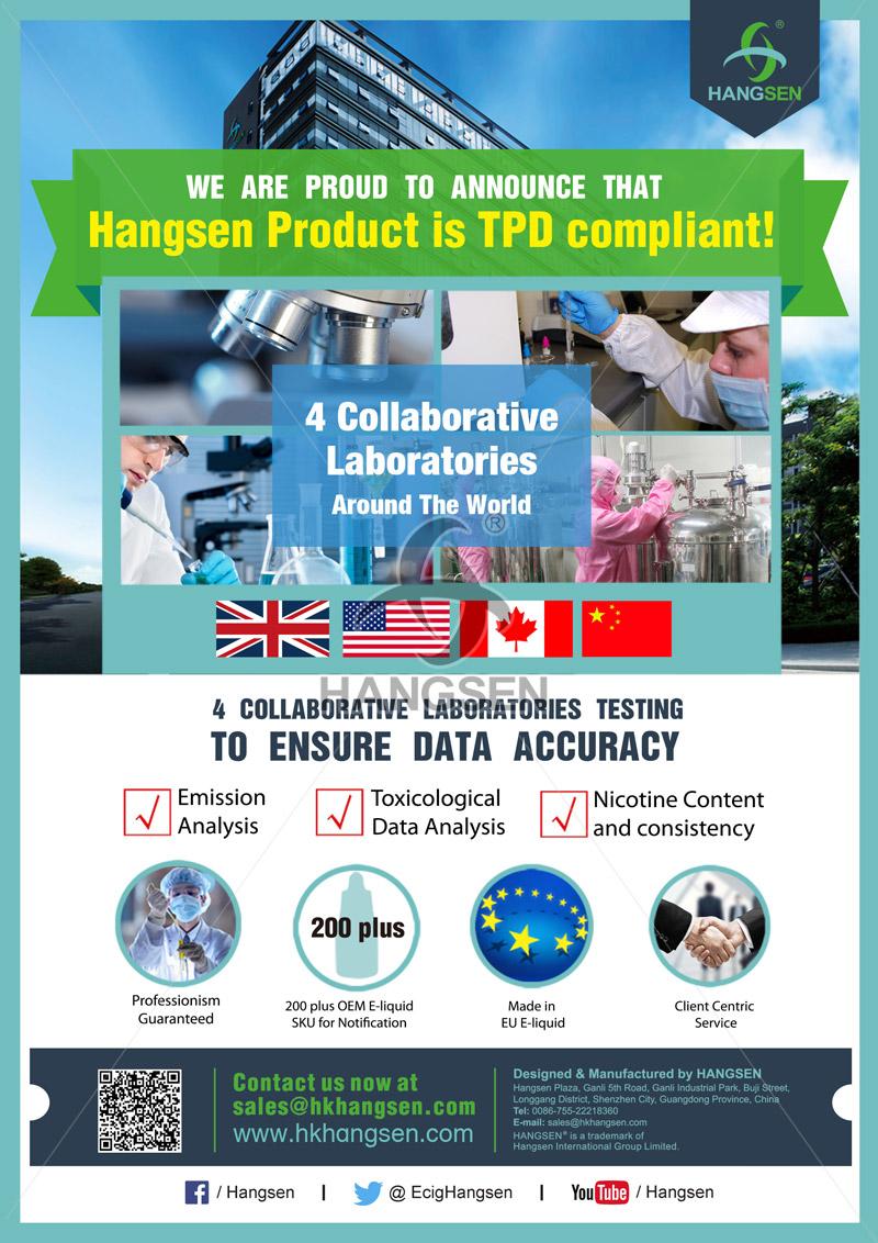 Hangsen is TPD complian