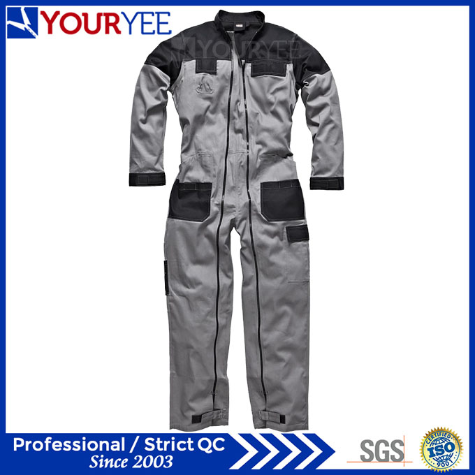 Double Zipper Coverall