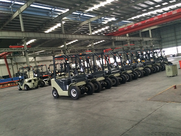 New Forklift Product Line 2017
